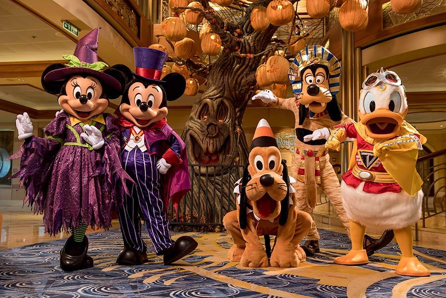 Disney Cruise Line anuncia cruzeiros para o Halloween 2022