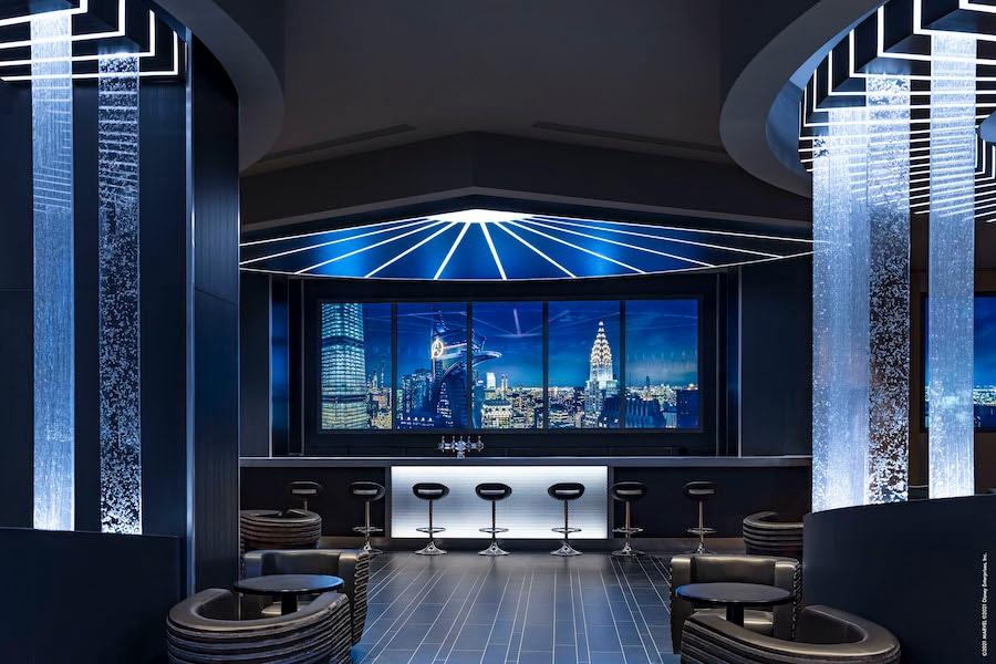 Skyline Bar at Disney's Hotel New York – The Art of Marvel