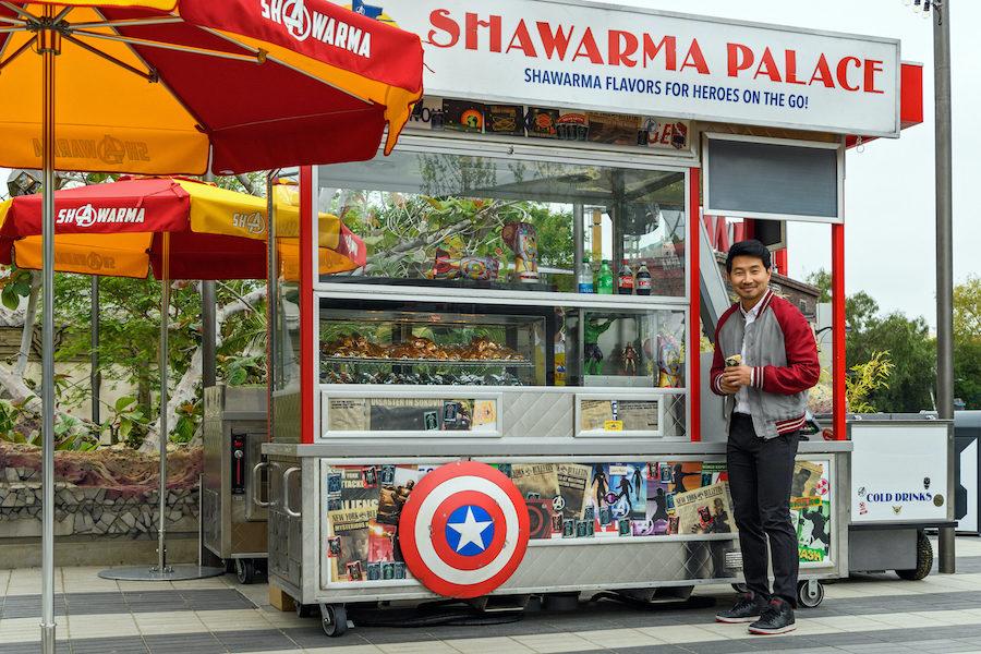 Simu Liu Films Cameo for the Opening of Avengers Campus at Disney California Adventure Park