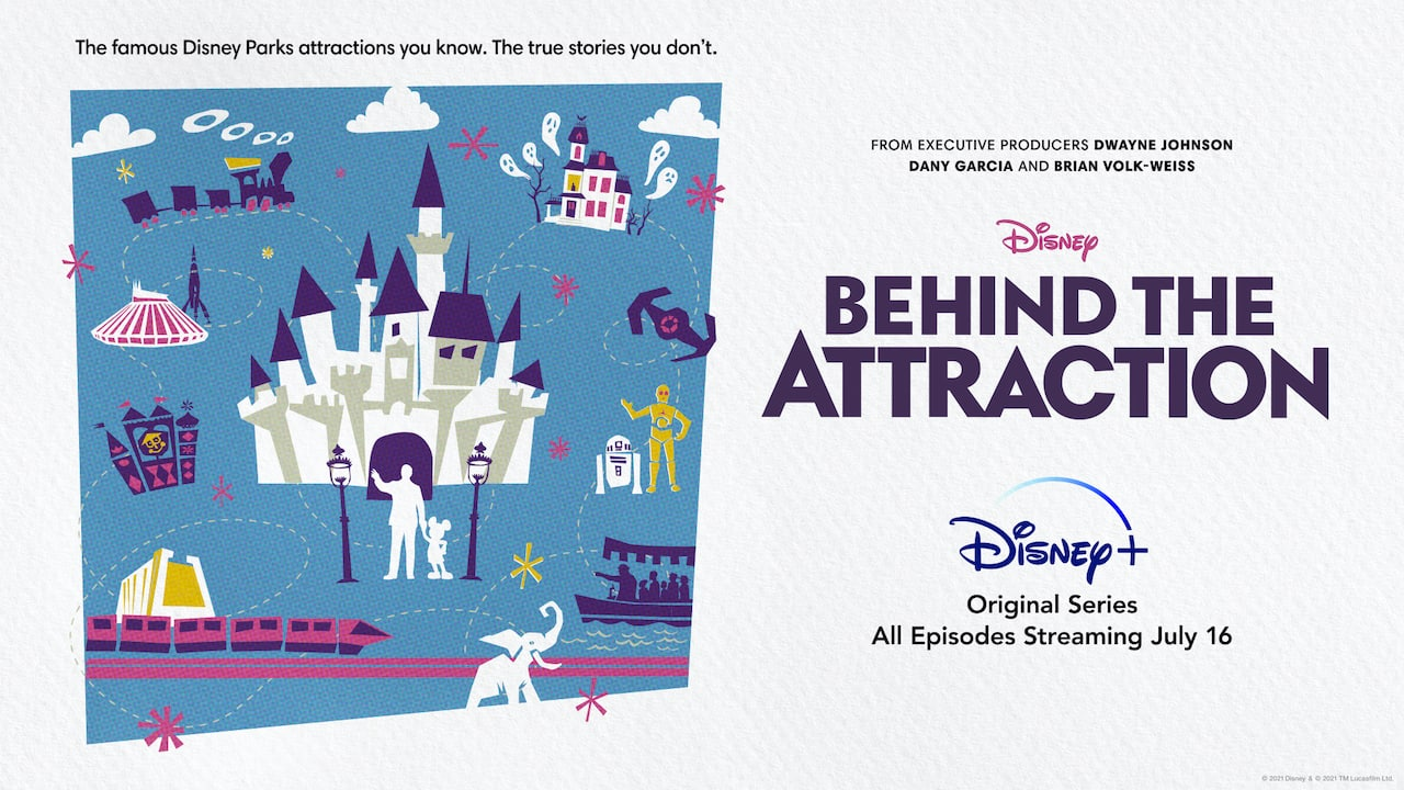 Disney+ Behind the Attractions