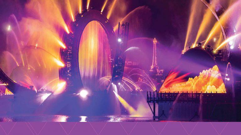 """Disney divulga as primeiras imagens do show """"Harmonious"""""""