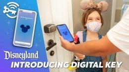 Graphic for the Disneyland App Digital Key