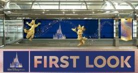 First Look: Walt Disney World Resort 50th anniversary art installation coming to Orlando International Airport