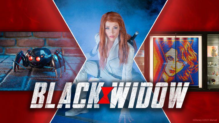 Viúva Negra invade os parques Disney