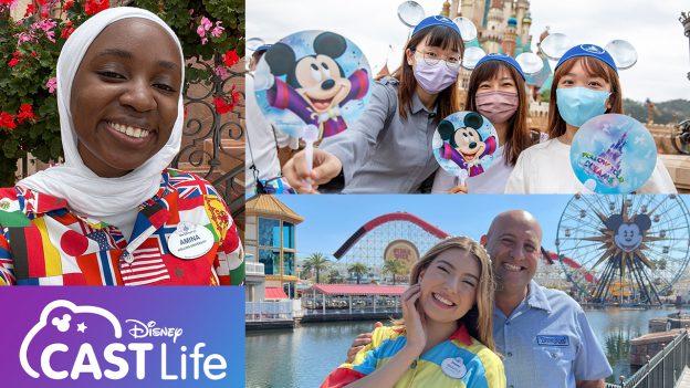 Disney Cast Life Collage