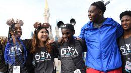 Disney Dreamers Academy students at Magic Kingdom Park