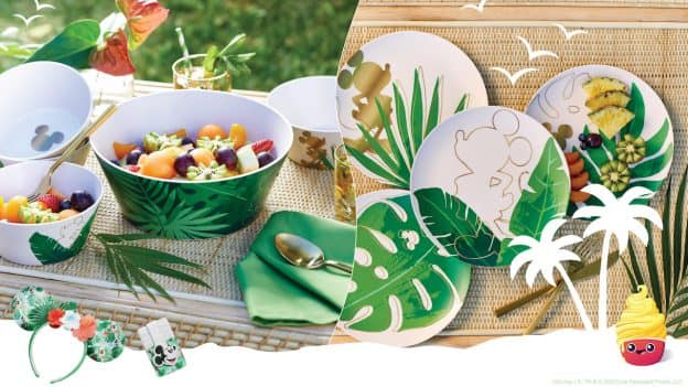 Image featuring tropical-themed merchandise from shopDisney