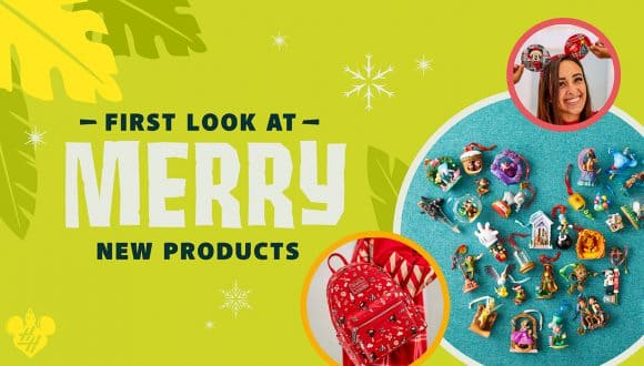 Graphic for holiday merchandise offerings