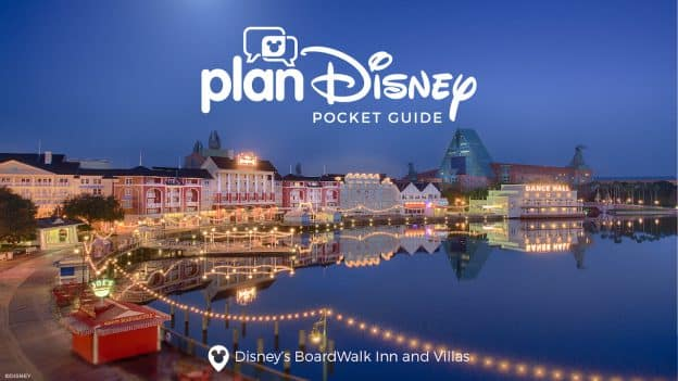 Graphic for planDisney Pocket Guide to Disney's Boardwalk Inn & Villas