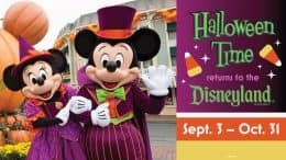 Halloween Time returns to the Disneyland Resort Sept. 3 - Oct. 31