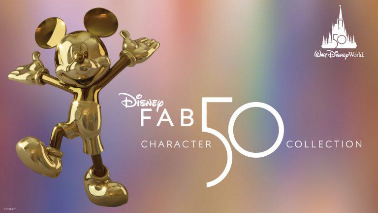 """Disney revela 1ª estátua da coleção """"Disney Fab 50"""""""