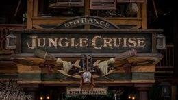 Jungle Cruise entrance sign