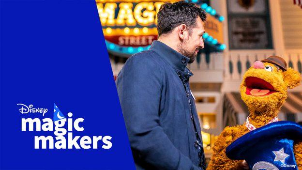 Disney Magic Makers: Disneyland Ambassador Justin and Fozzie Bear