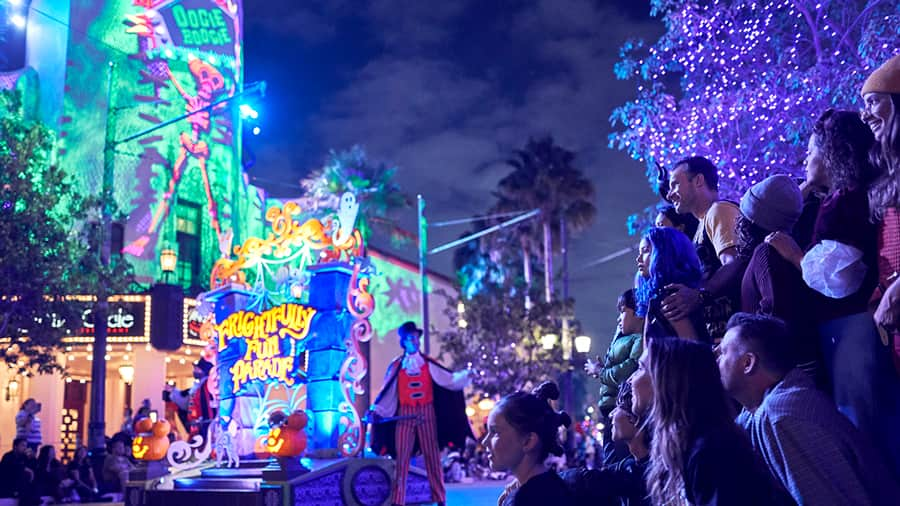Frightfully Fun Parade during Oogie Boogie Bash – A Disney Halloween Party