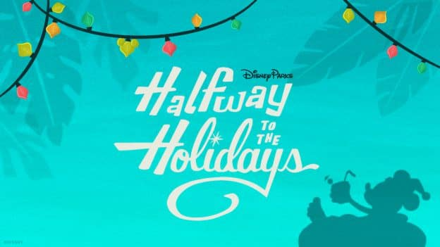 Halfway to the Holidays graphic