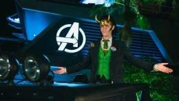 Loki at Avengers Campus at Disney California Adventure Park