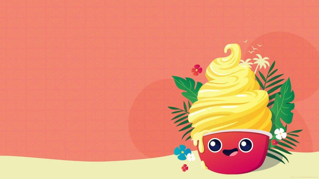 DOLE Whip Day wallpaper