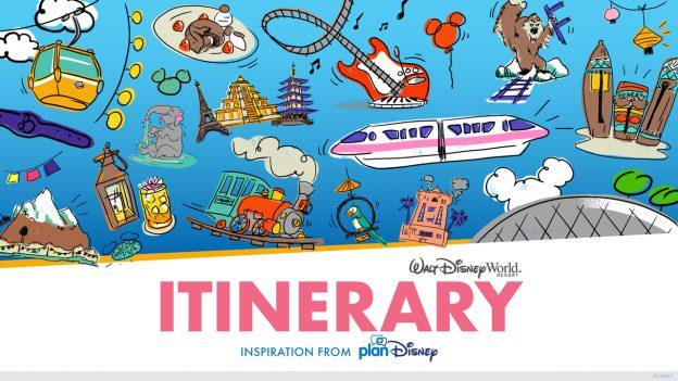 Walt Disney World Itinerary Inspiration from planDisney