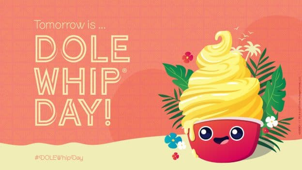 DOLE Whip Day graphic