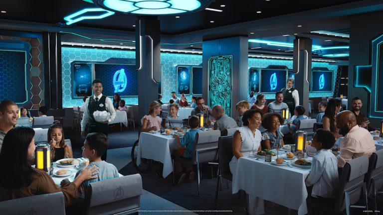 Disney revela mais detalhes de restaurantes do Disney Wish