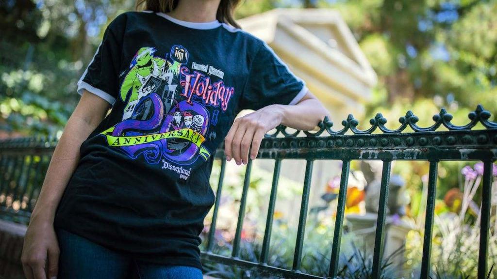 Haunted Mansion Holiday T-shirt