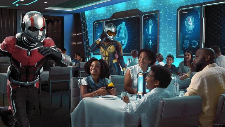 "Disney Cruise Line revela detalhes do restaurante ""Worlds of Marvel"""