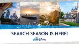 Graphic for the 2021 planDisney Search