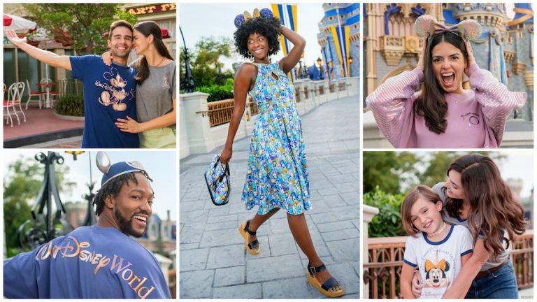 Disney anuncia SEIS coleções em comemoração aos 50 anos do Walt Disney World