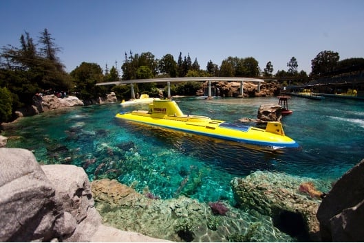 Finding Nemo Submarine Voyage at Disneyland park
