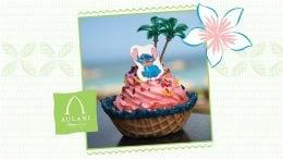 Stitch-themed DOLE Whip treat at Aulani