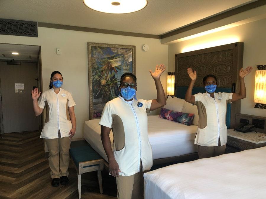 Polynesian Village Resort Housekeeping cast members