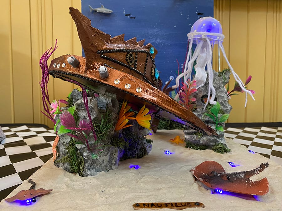 20,000 Leagues Under the Sea display