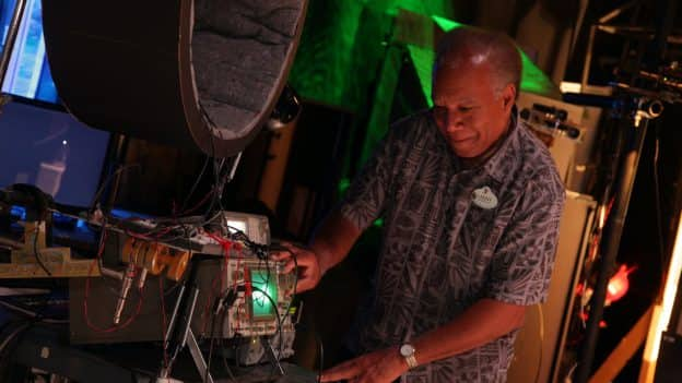 Imagineer and Disney Research Fellow Lanny Smoot