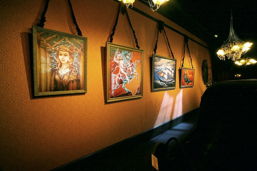 Gallery in the Haunted Mansion