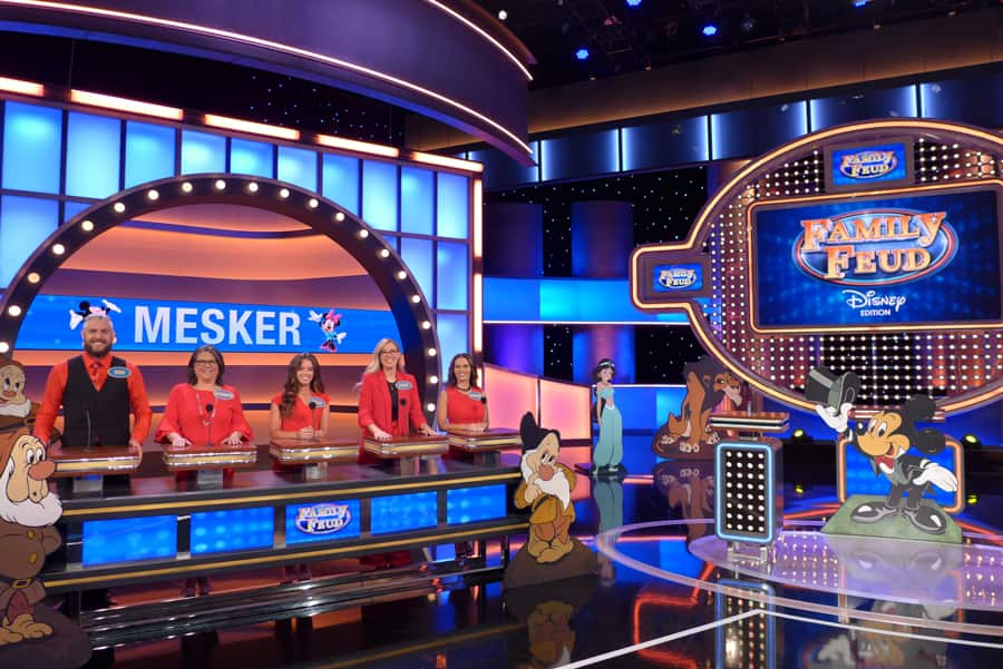 Disney edition of Family Feud - Mesker Family