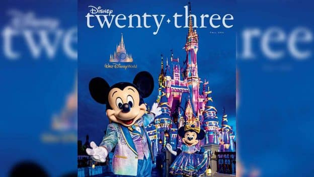 Disney twenty-three Magazine