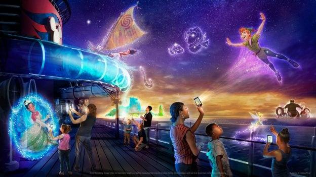Artist Rendering - Disney Uncharted Adventure