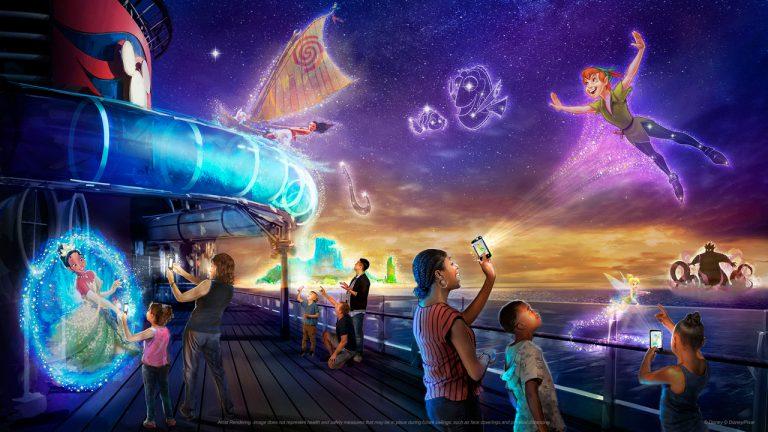 Disney revela experiência interativa do Disney Wish