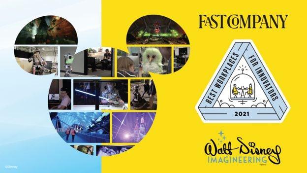 Fast Company Best Workplaces for Innovators 2021 - Walt Disney Imagineering