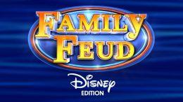 Family Feud Disney Edition