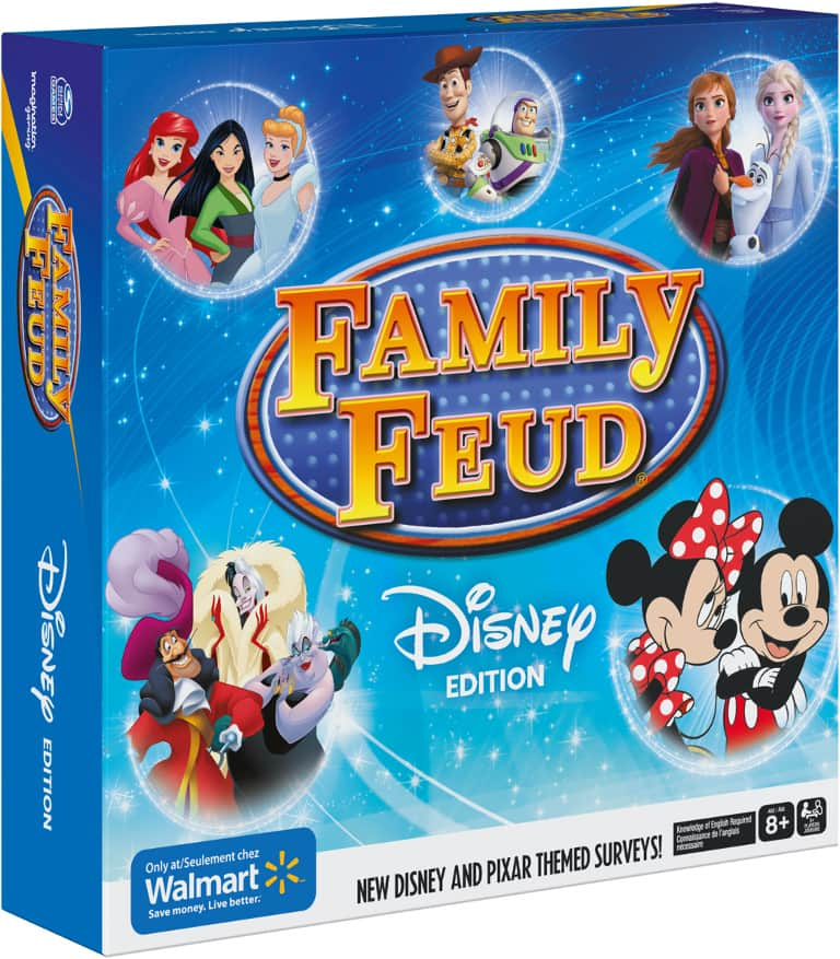 """""""Family Feud: Disney Edition"""" board game found exclusively at Walmart"""