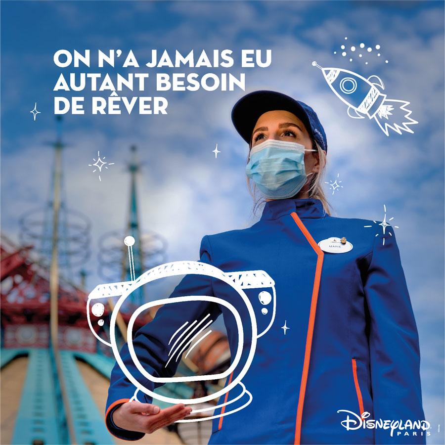 Disneyland Paris cast member dreams to be an astronaut