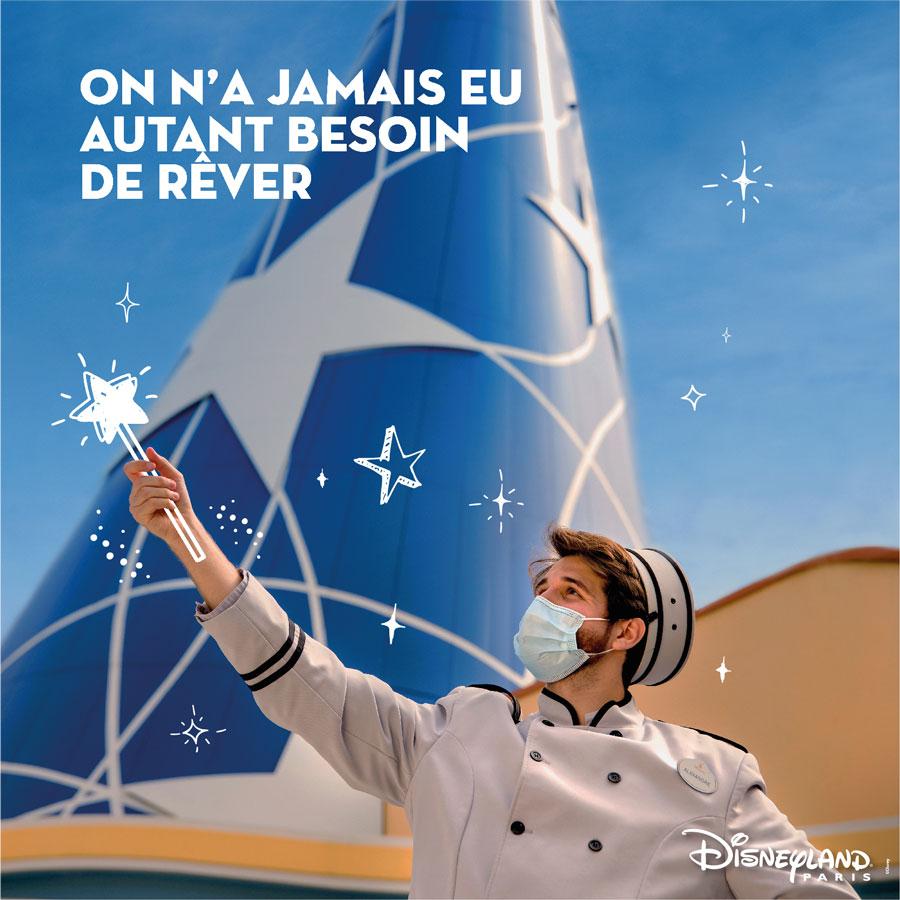 Disneyland Paris cast member dreams of being a magician