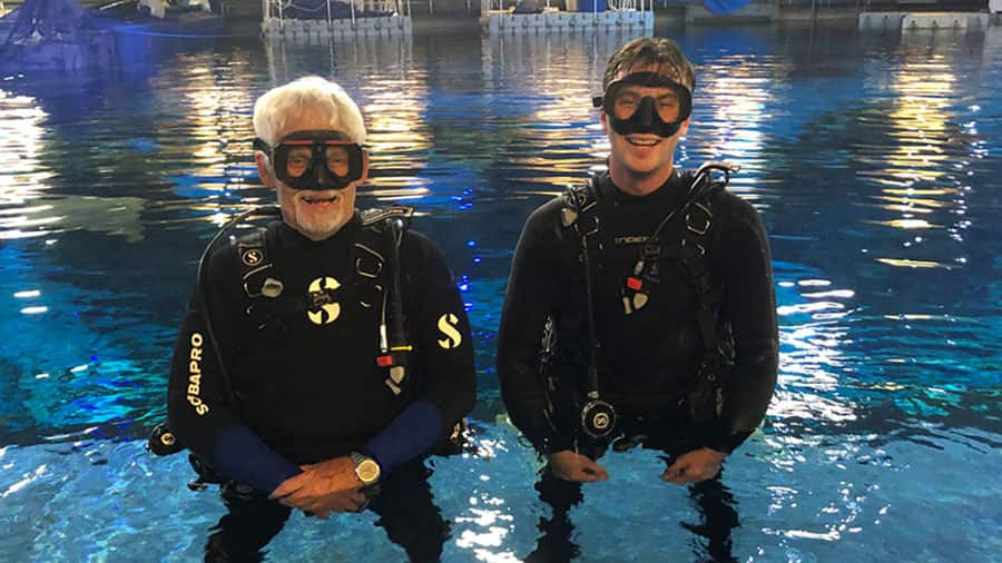 Dive Masters, Jim and Harrison