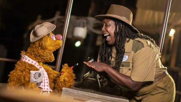 Fozzie Bear and Jungle Cruise skipper
