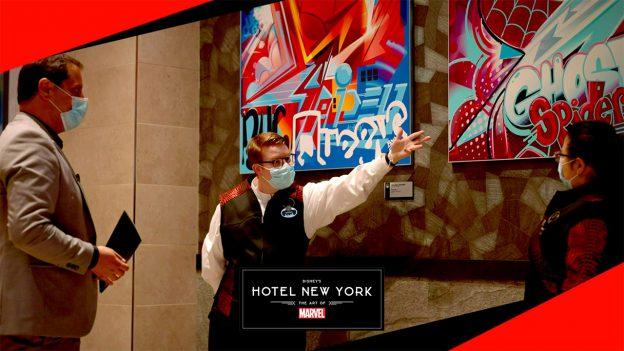 Disney's Hotel New York - The Art of Marvel | Epic Staycation