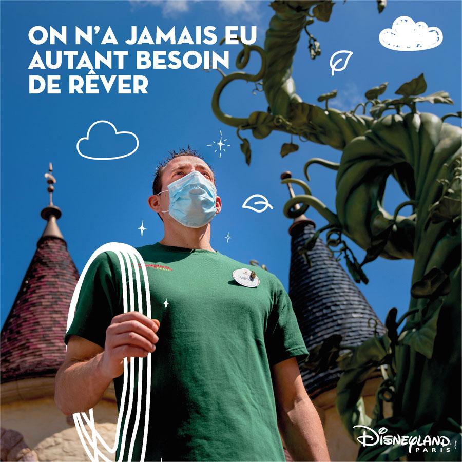 Disneyland Paris cast member dreams of touching the clouds