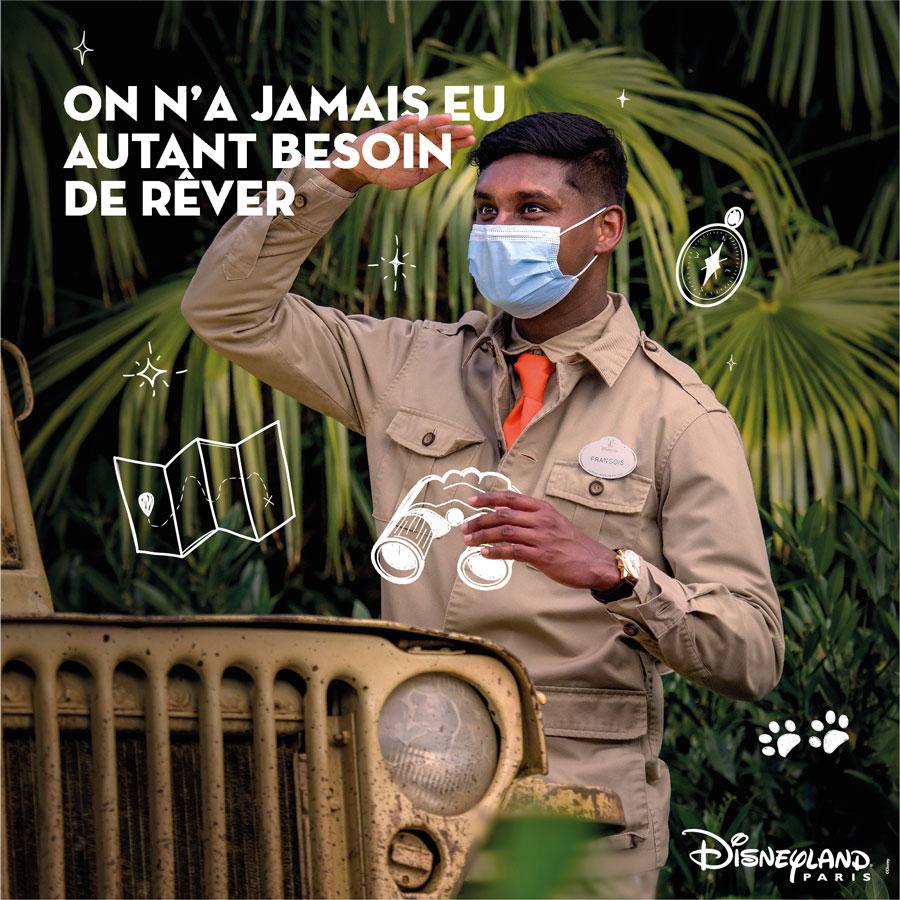 Disneyland Paris cast member dreams of exploring the world
