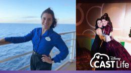 Disney Cruise Line cast member, Sam
