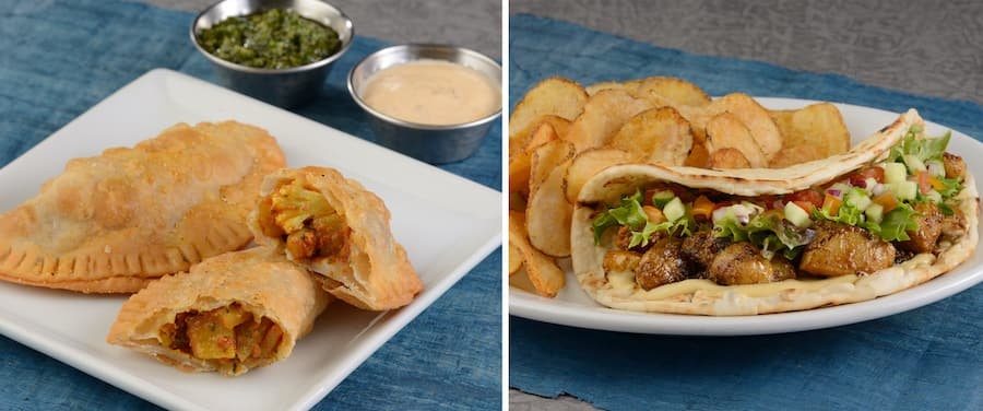 Food offerings from Kusafiri Coffee Shop and Bakery at Disney's Animal Kingdom